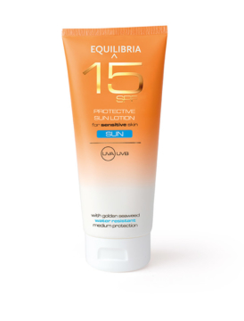 EQUILIBRIA Sun Lotion SPF15, 200ml